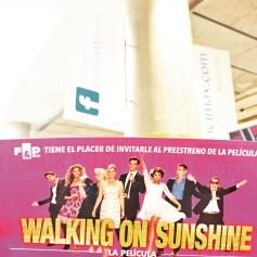"Entrada ""Walking on Sunshine"""
