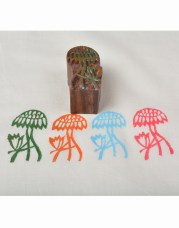 Wooden Blocks for Block Printing Online Small Floral Designs
