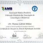 Thomas Miklos AMB FEBRASGO Reprodução Assistida