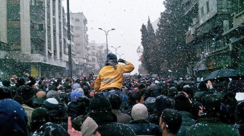 Syrian revolution solidarity