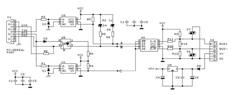 rs 232 to 485 converter circuit diagram lifan 110cc atv wiring null modem serial cable diagram, null, free engine image for user manual download