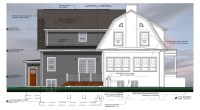 Dutch Colonial House.Dutch Colonial Style House Stock ...