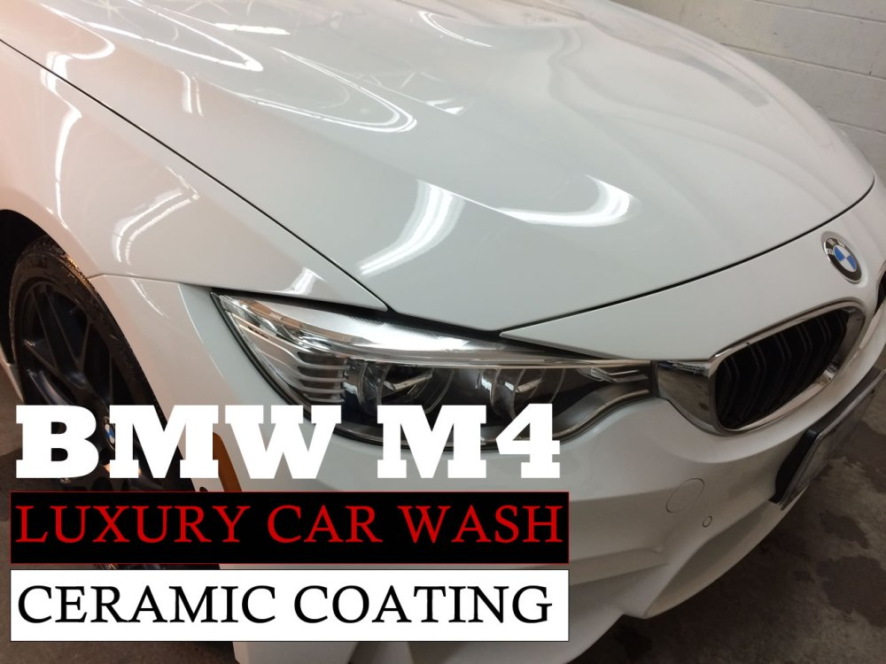 medium resolution of luxury car wash ceramic coating paint protection bmw m4 high end auto detailing