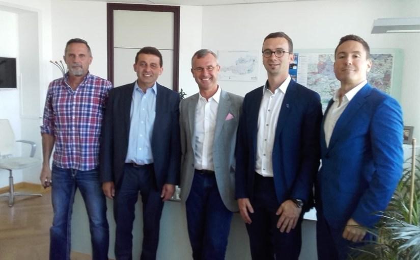Verein RSB stellt Projekt im Verkehrsministerium vor