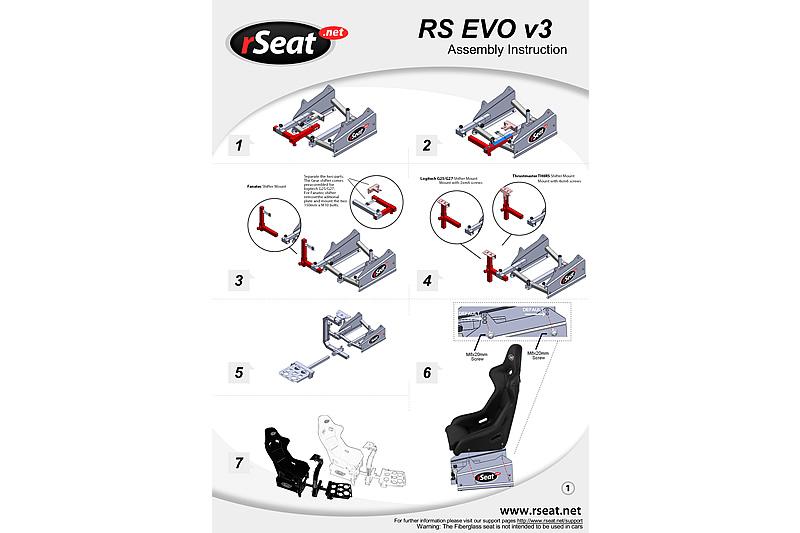 Rseat RS EVO V3 Gaming Seat