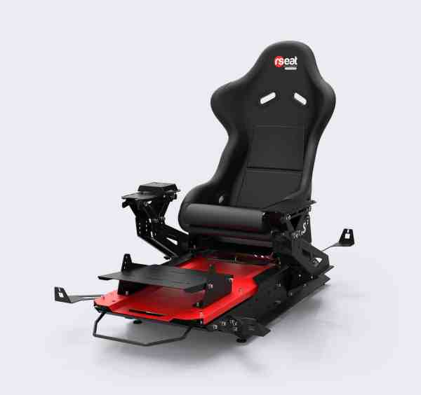 rseat s1 black red upgrades pro shifter 03