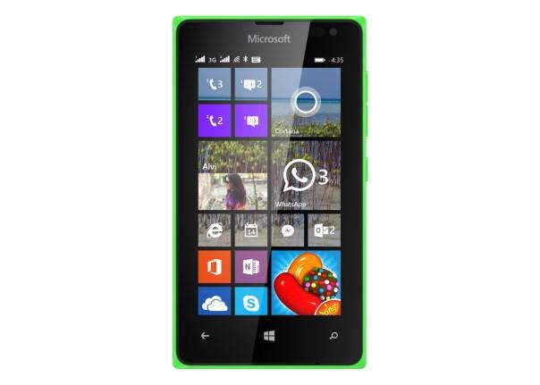 Lumia435_Front_Green_DSIM