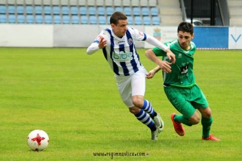 La Gimnástica no frena y se impone no sin dificultades al Atlético Albericia (4-1)