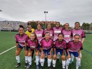 Derrota de la R.S. Gimnástica Femenino en su primer envite frente al Rácing Féminas B (4-1)