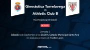 El partido entre Gimnástica y Bilbao Athletic, retransmitido a través de Footters por tan sólo 2,99€