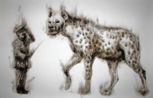 Hyena (rooktekening)