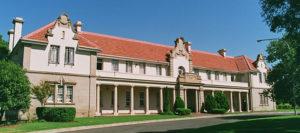 Murray House, een van die koshuise by Grey Kollege in Bloemfontein. Was Spanner hier?