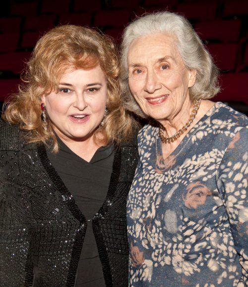 Die legendariese operasangeres Emma Renzi, het Michelle se konsert bygewoon.