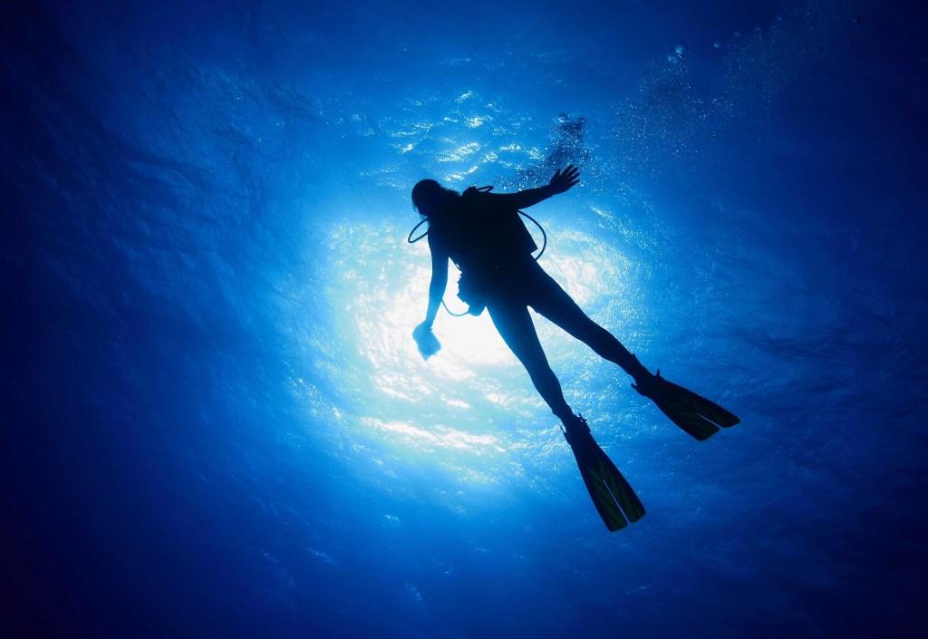 Wat gebeur as jy diep duik?