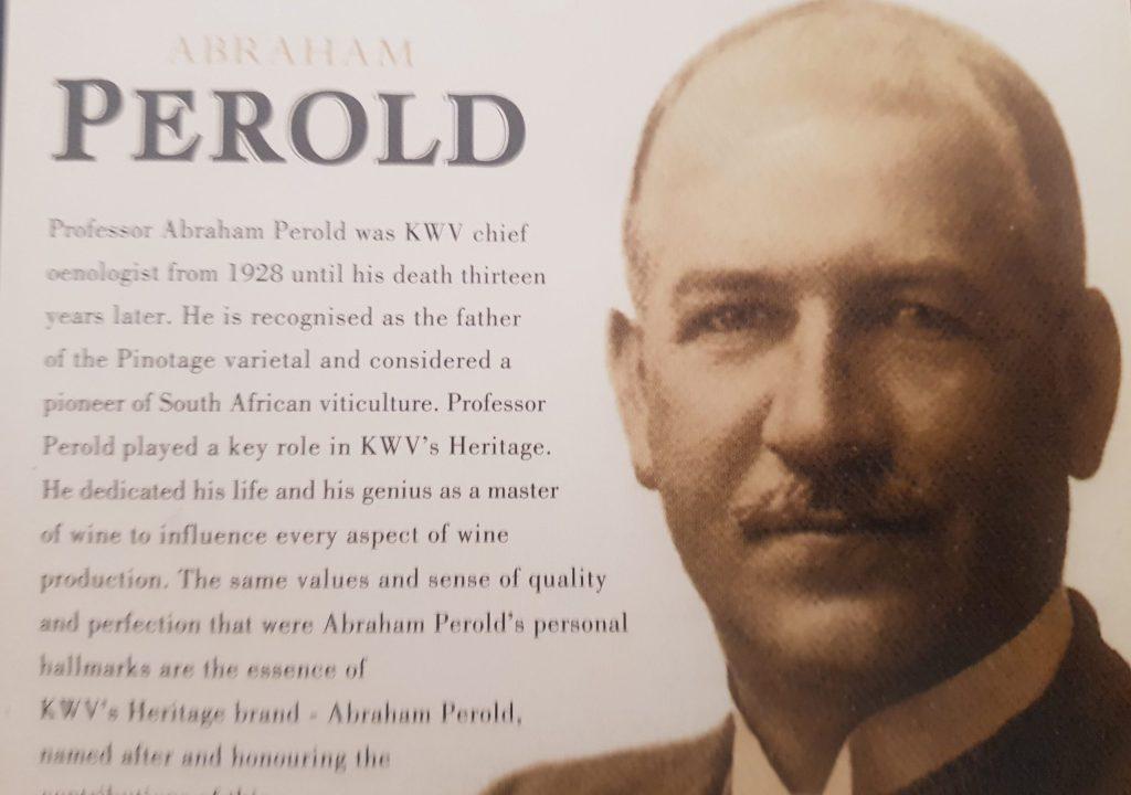 Luister weer: Abraham Izak Perold – Die vader van Pinotage