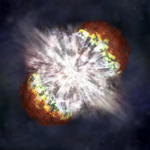 Sal 'n supernova die aarde se einde beteken?