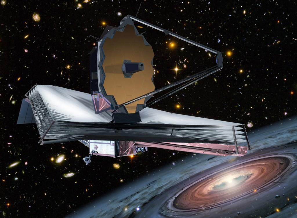 Die James Webb teleskoop eersdaags na ruimte
