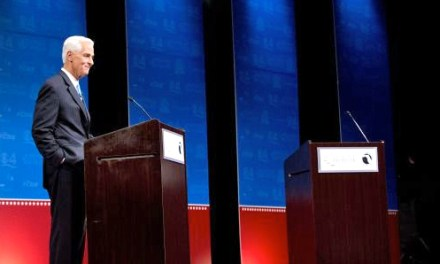 Rick Scott almost refused to debate Charlie Crist because of a small electric fan