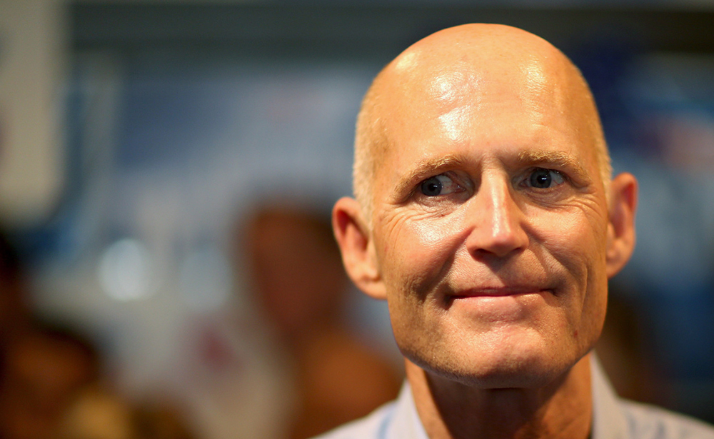 Rick Scott Considered as Possible Trump Running Mate