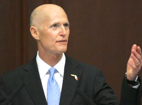 Rick Scott Is Fearmongering That People Could 'Try to Play Games' in Election