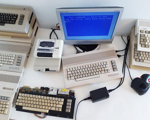 C64 PSU testing station.