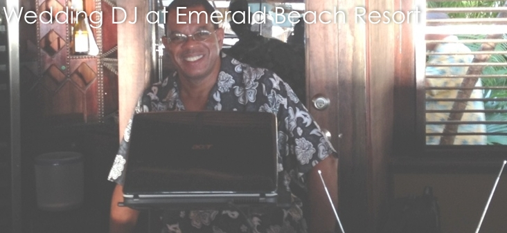 Emerald Beach Resort Wedding DJ