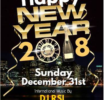 Old Year's Dinner at Rockstone Grille with DJ RSL