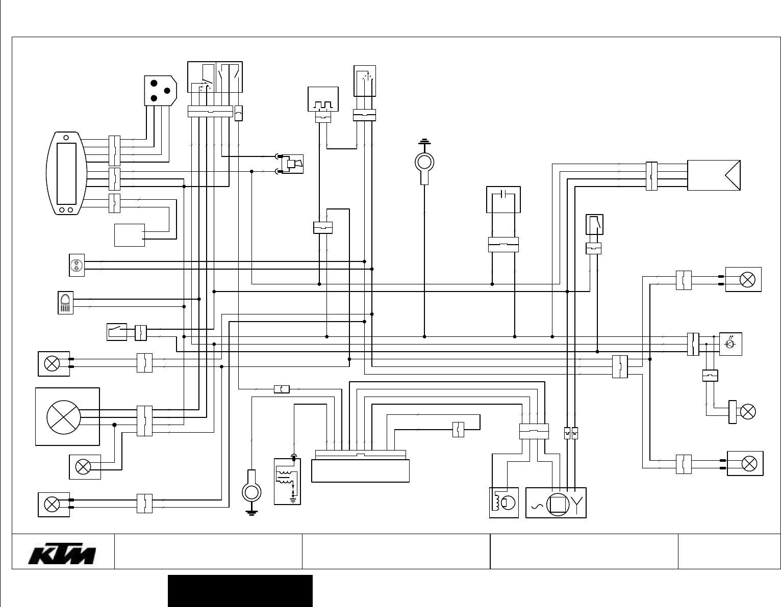 [DIAGRAM] Wiring Diagram Ktm 125 Exc Six Days 200 FULL