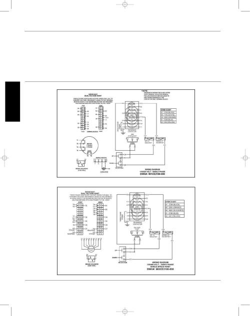 small resolution of dayton operating instructions and parts manual dayton electric chain hoists