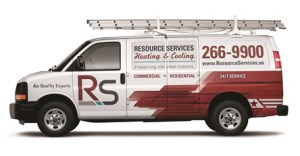 Resource Services Van Drivers Side