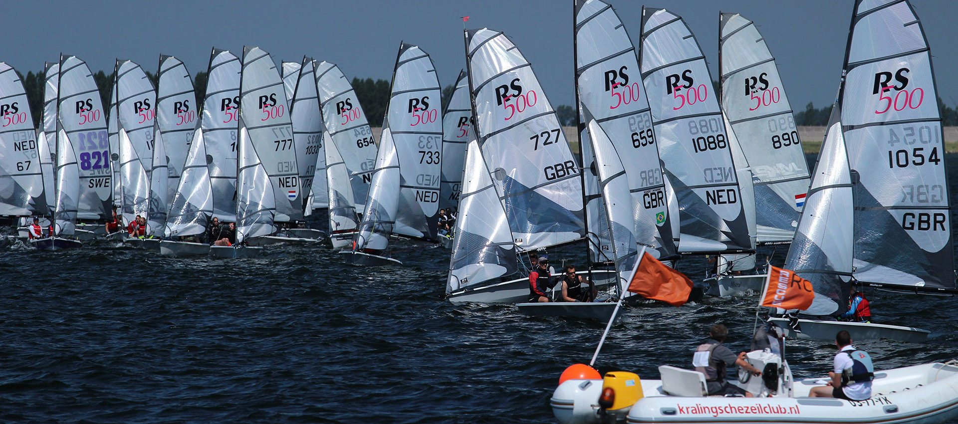 hight resolution of dinghy racing