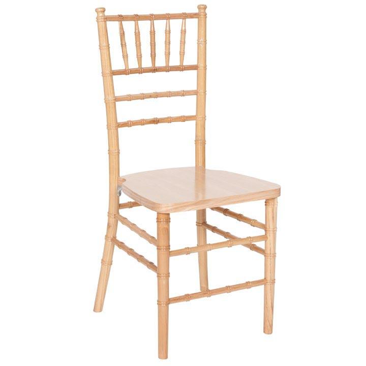 natural chiavari chairs siesta high chair wood w ivory cushion assembled