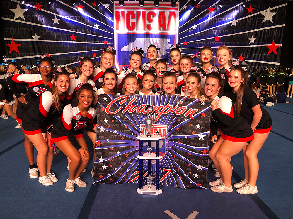 SRHS Cheerleaders win 2A Championship  District News