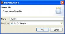News Bins