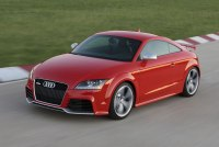 2013 Audi TT RS - front photo, Misano Red color, driving ...