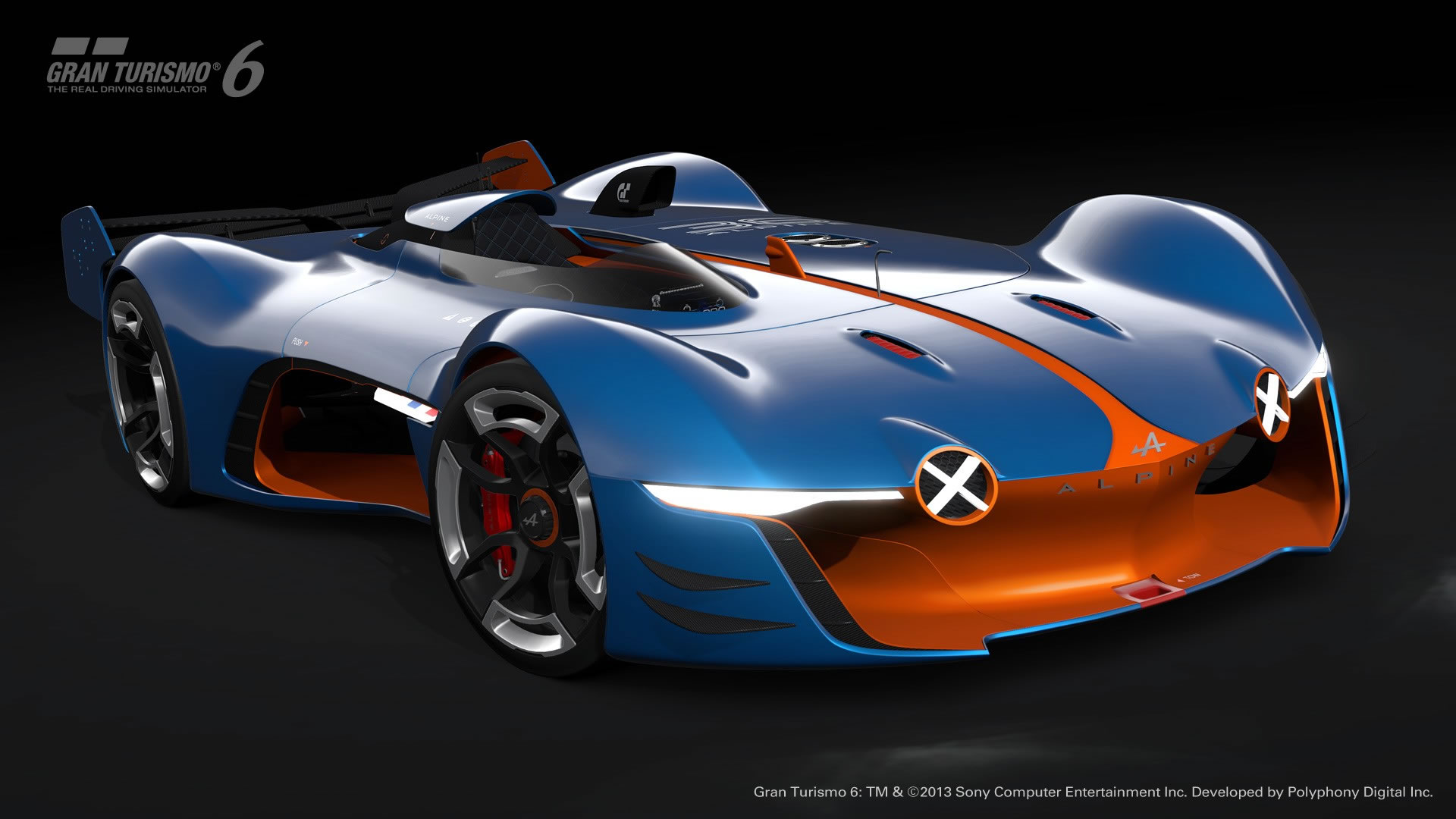 Wallpapers Oakley 3d 2015 Renault Alpine Vision Gran Turismo Concept Front