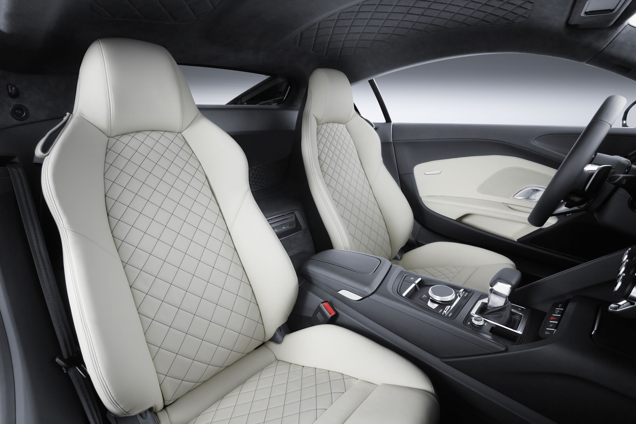 Tesla Car In Space Wallpaper 2016 Audi R8 V10 Interior Photo Front Seats Size 2048