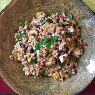 An Ancient Grain – Farro Salad