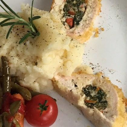 Mediterranean Stuffed Chicken Breast