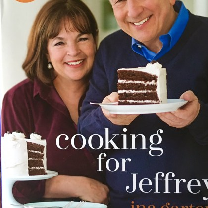 This Week:  Cooking for Jeffrey