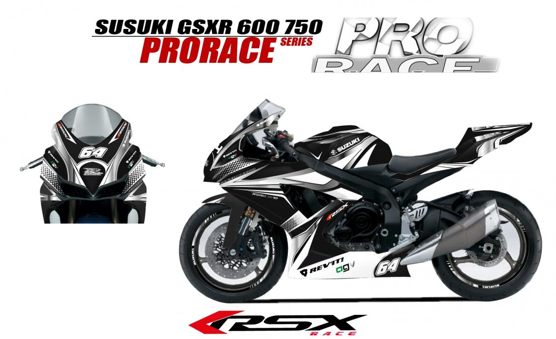 kit deco SUZUKI GSXR 600 2008-10