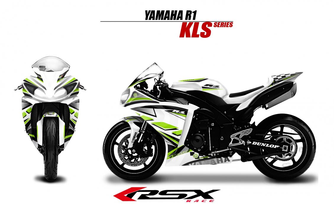 kit deco YAMAHA R1 1998-99