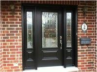 Black Wooden Front Doors With Sidelights | Interior Design ...