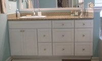 Traditional White Shaker Bathroom Vanities
