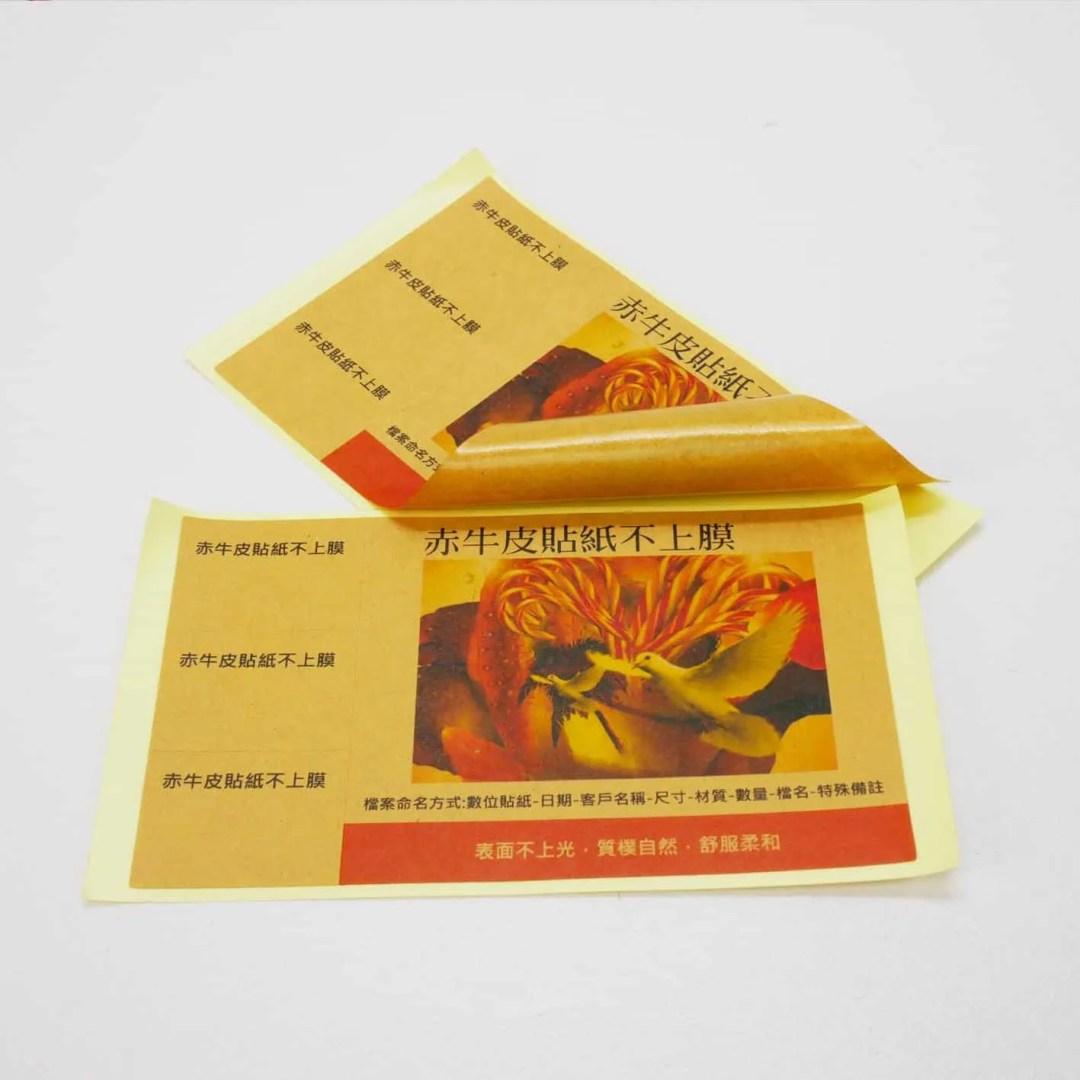 Kraft Paper Sticker -1