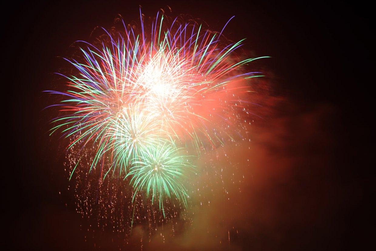 Fireworks Blast by Petr Kratochvil. Used under Public Domain