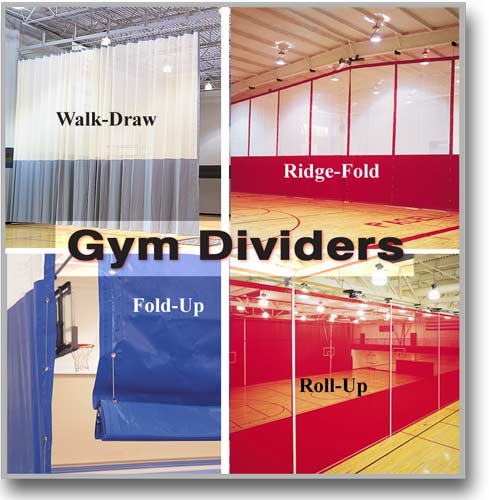 Gymnasium Divider Curtains