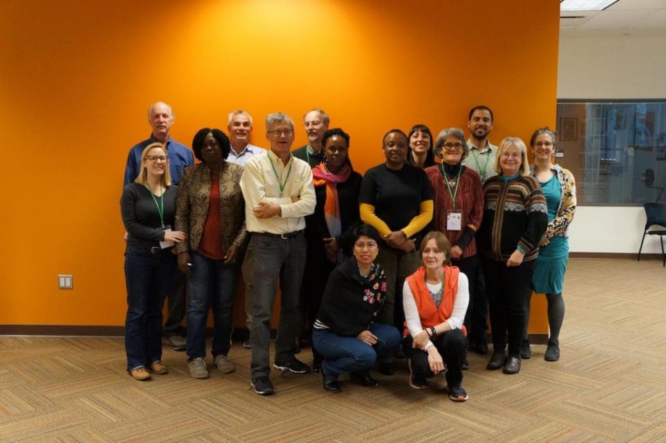 A GROUP PHOTO OF WORKSHOP PARTICIPANTS. PHOTO: CORNELL UNIVERSITY