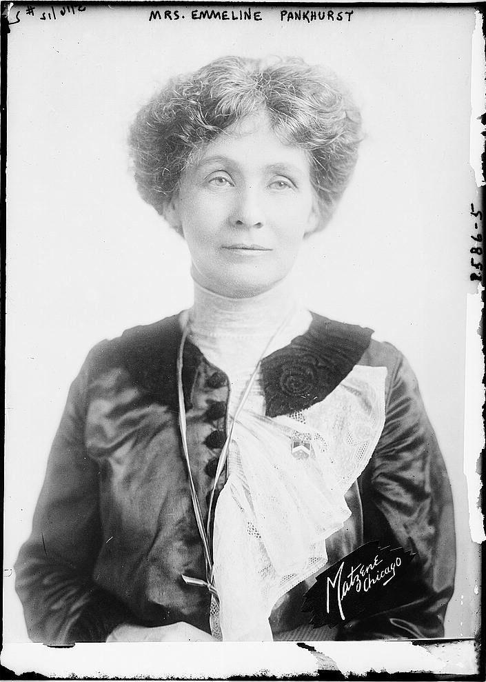 Image result for emmeline pankhurst arrested in glasgow