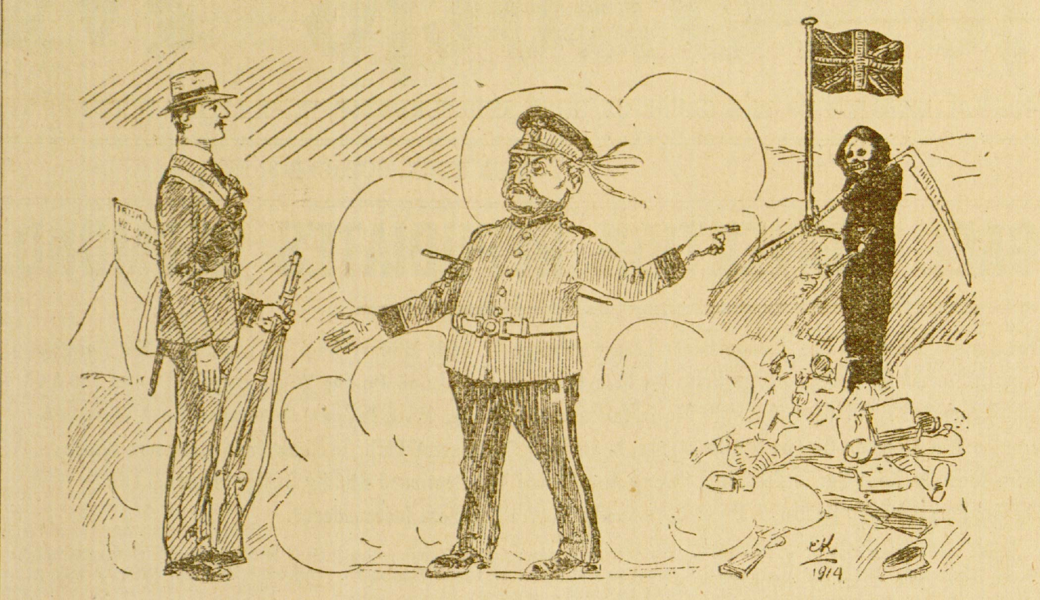 Anti-Conscription meeting in Dublin